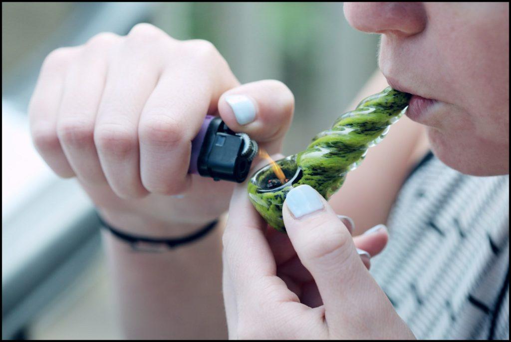 Die Kraft der Cannabispflanze