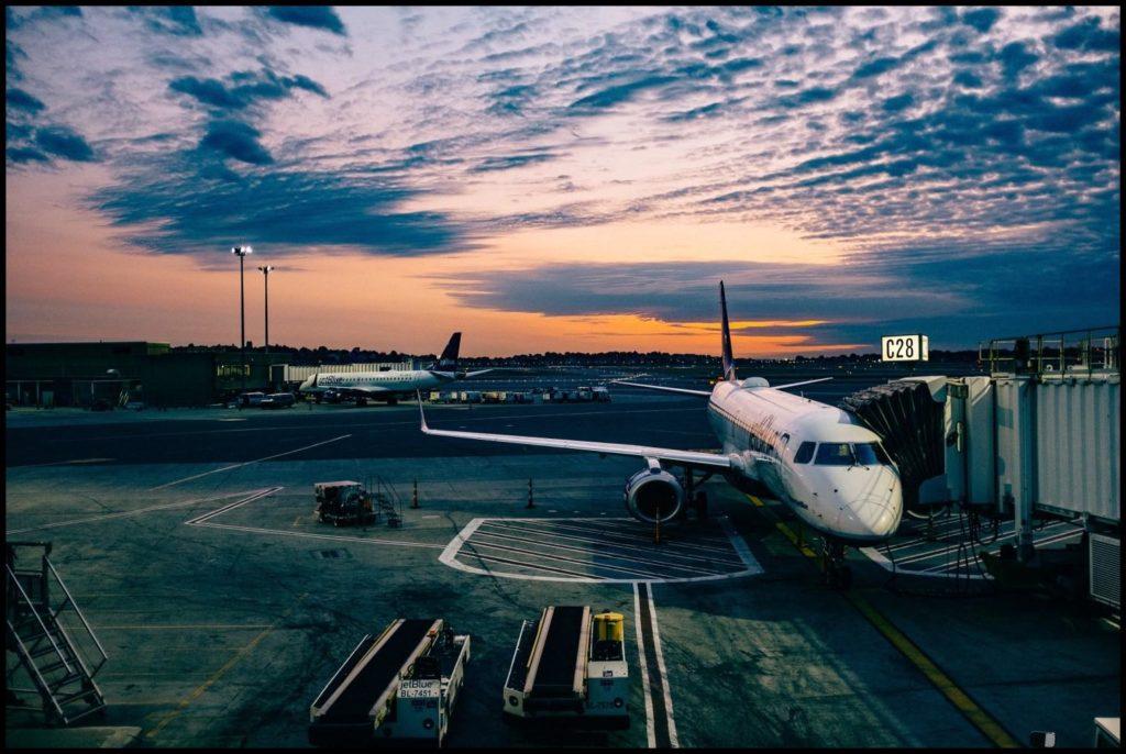 Tätigkeiten im Flugzeug